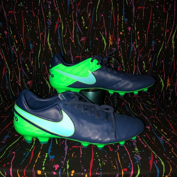 new product cf5c5 b812c Nike Tiempo Legacy II FG Soccer Cleats Size 12